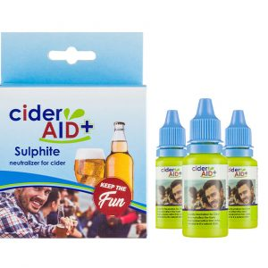 3 x Cider Aid package