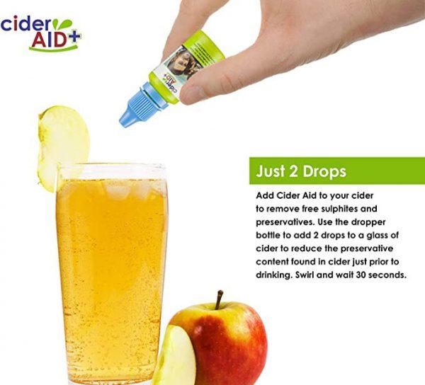Cider- Aid Just 2 drops