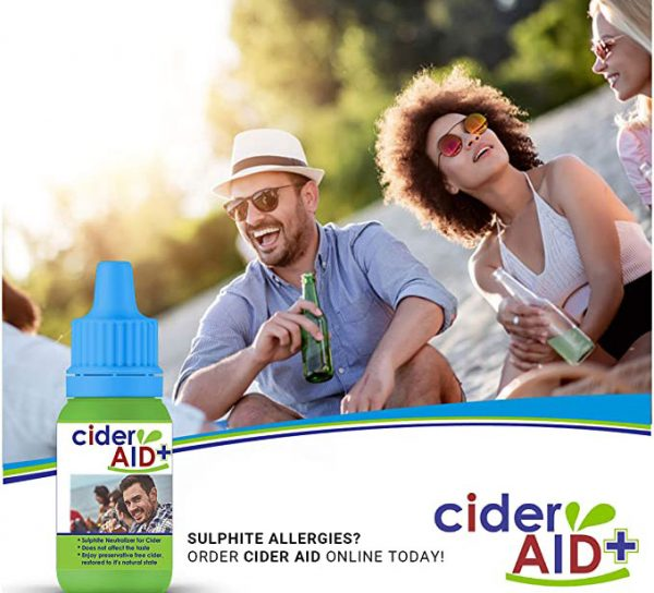 Cider Aid Sulphite allergies