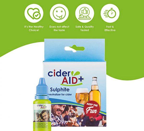 Cider Aid the healthy choice