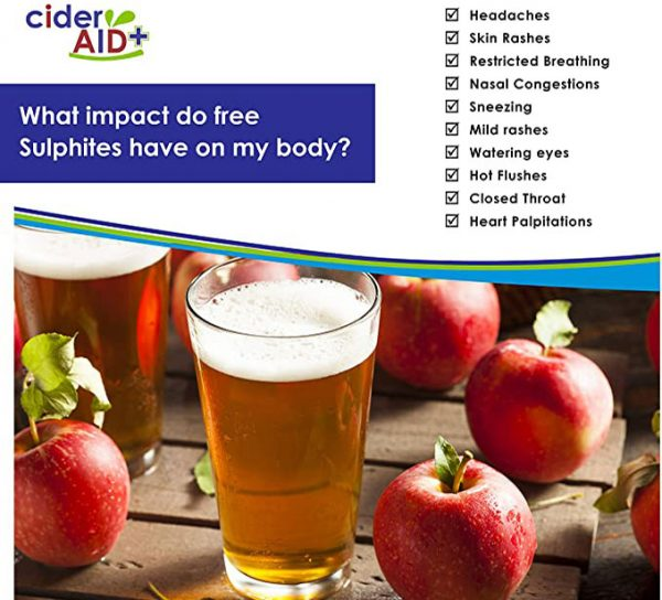 Cider Aid what impact do free sulphites have