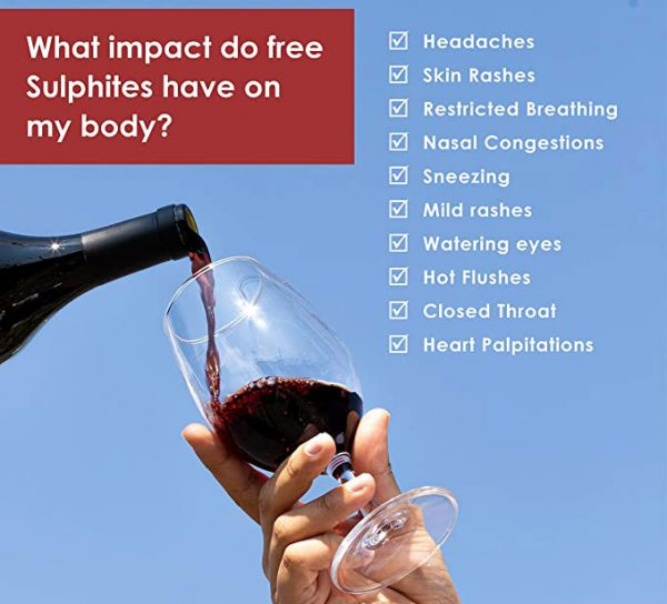 What impact do free sulphites have