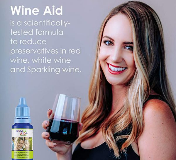 Wine Aid Scientifically Tested