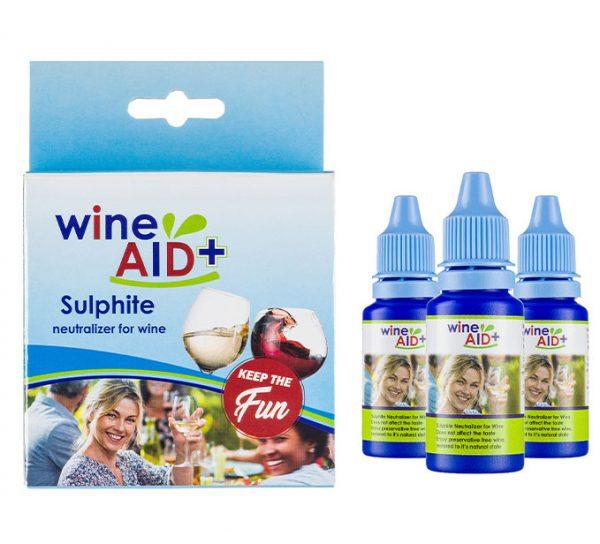 3 x Wine Aid package