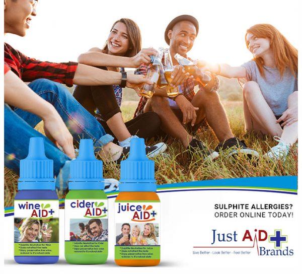 Wine Aid Juice Aid Cider Aid- Combo Ad