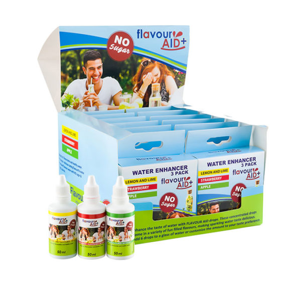 Flavour Aid 12 box mixed pack with bottles