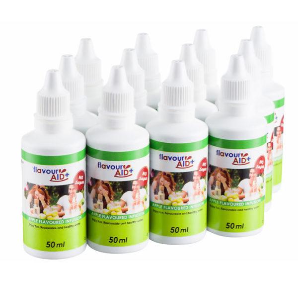 Flavour Aid Apple 12 pack bottles