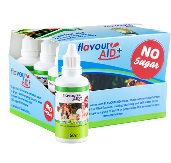 Flavour Aid Apple 12 pack packaging